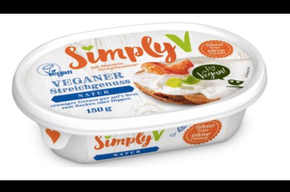 SimplyV cream cheese - creme fraiche