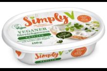 SimplyV Vegan cream cheese - herbs