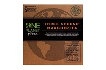 One Planet Pizza Three Sheese Pizza