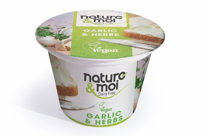Nature & Moi Spread - Garlic & Herbs 150g