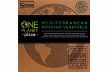 One Planet Pizza Mediterranean Roasted Vegetable