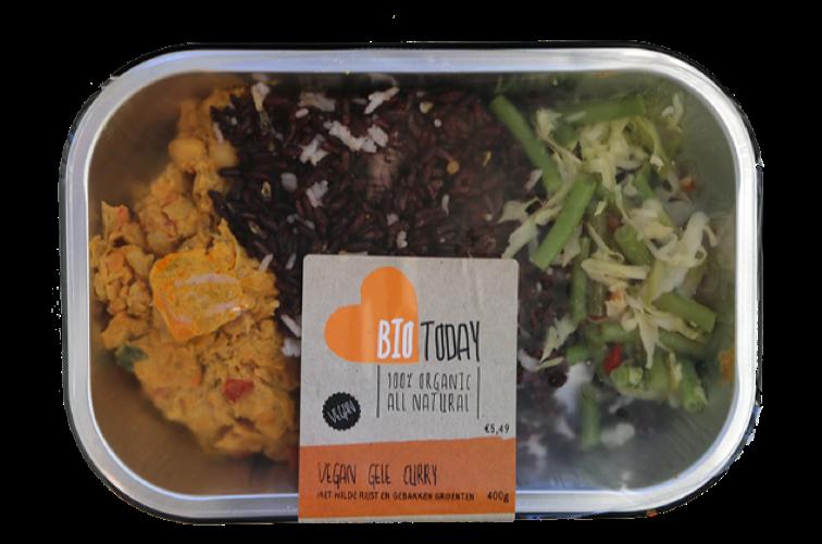 Bio Today Verse Vegan Maaltijden - Gele Curry