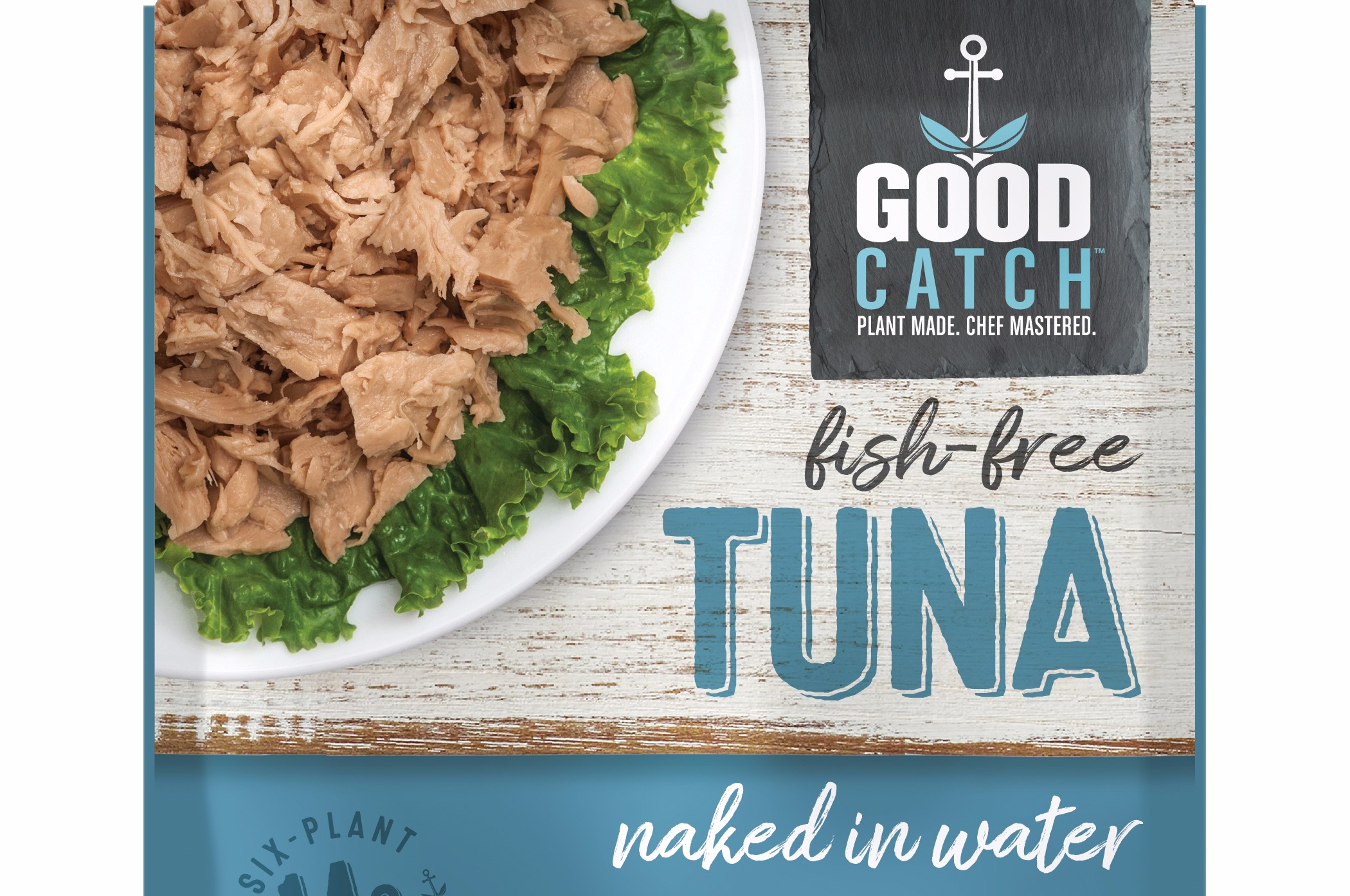 Good Catch Fish-Free Tuna, Naked in Water