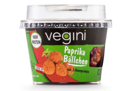 Vegini Snacks to-go Paprika