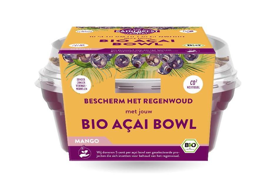 The Rainforest Company Organic Acai Bowl - Mango