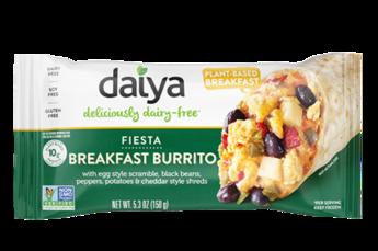 Daiya Fiesta Breakfast Burrito